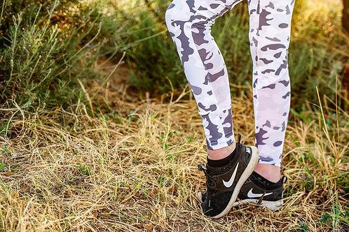White/Grey Camo Leggings