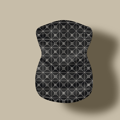 Black Geometric Original Buff