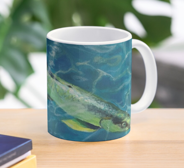 Tarpin Fish in the Caribbean Mug