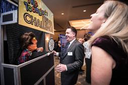 Interactive Trivia Challenge Booth