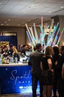 The Spotlight Gala Featured a Glamorous Full Bar
