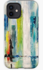 Abstract Cityscape Reflected iPhone Case & Cover