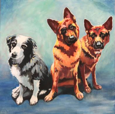 Enzo, Sally and Milo