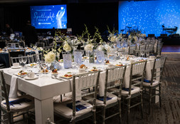 Beautifully Designed, Down to the Centerpieces