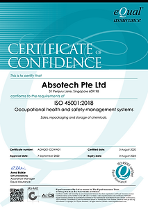 AOHQ01-CCWW01 Certificate of Confidence