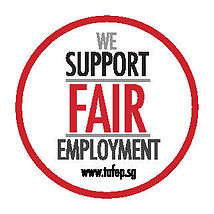 TAFEP Fair Employment Badge - Colour ver