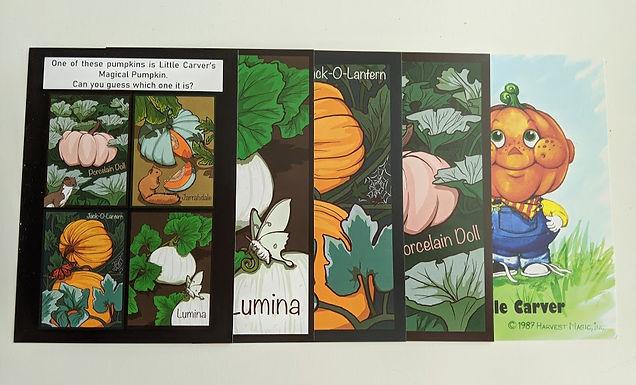 Mystery Postcard Set: Little Carver's Magical Pumpkin