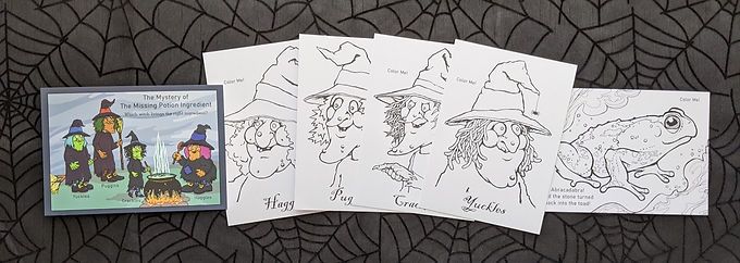 Mystery Postcard Set: The Mystery of the Missing Potion Ingredient