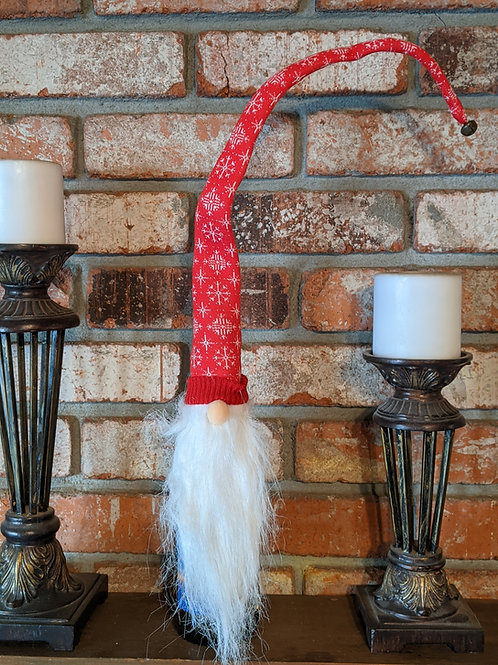 """28"""" Gnome Bottle Topper with Bendable Hat"""