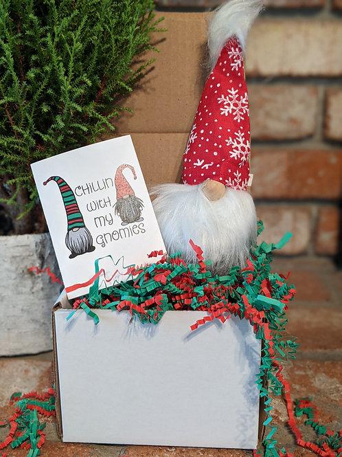 Gnome Holiday Gift Box