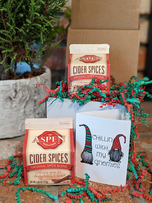 Aspen Mulling Cider Spices 2-pack Holiday Gift Box