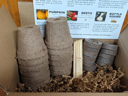 Peat Pots, Plant Markers, & Peat Pellets in Plant & Play Kit for Kids