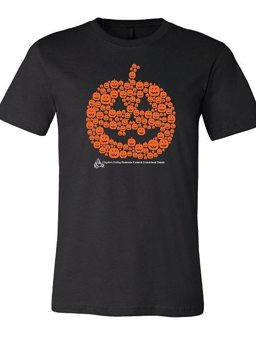 Many Pumpkins Jack-o-lantern Adult Unisex T-shirt