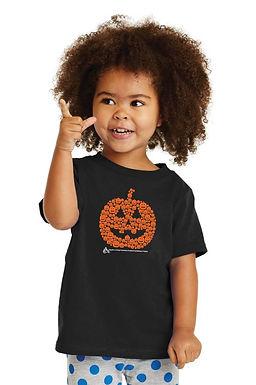 Many Pumpkins Jack-o-lantern Toddler & Youth T-shirt