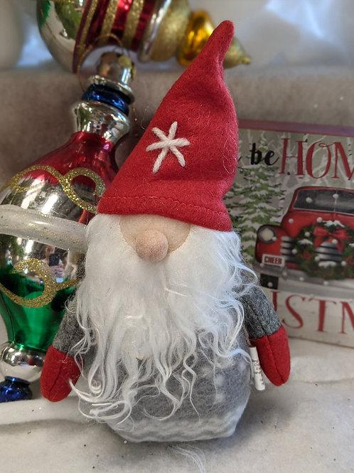 Nordic Winter Santa Plush Ornament