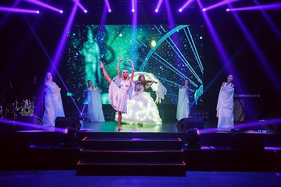 новый год артисты шоу-балет СПБ
