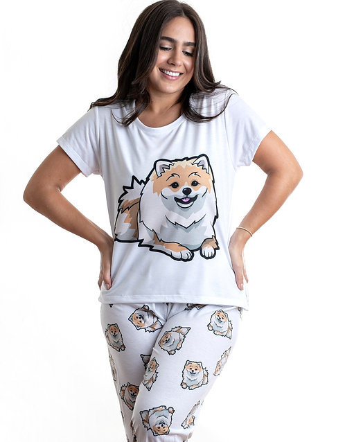 Pomeranian w/pants