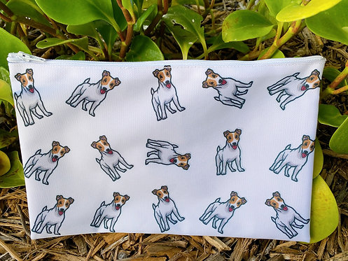 Jack Russell travel pouch