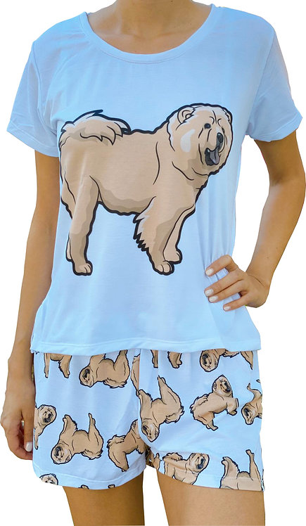Chow Chow w/shorts