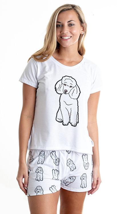 Poodle w/shorts