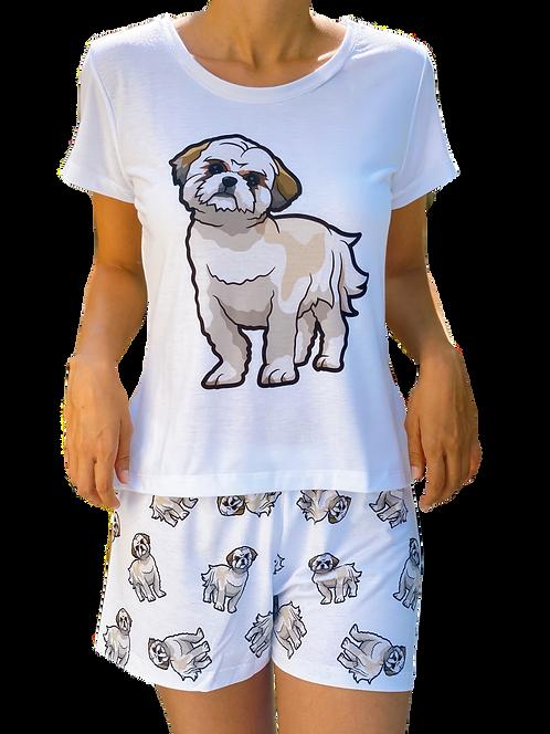 Shih tzu w/ shorts