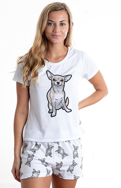Chihuahua 2 w/ shorts