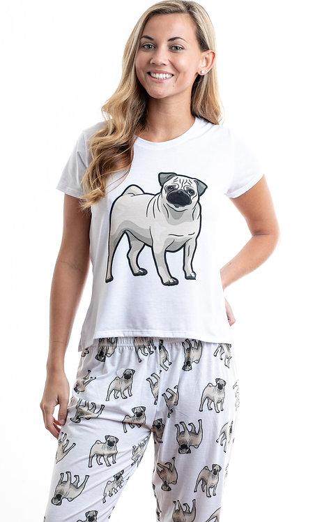 Pug 2w/ pants
