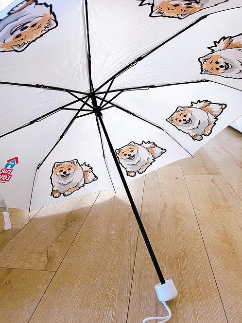 Pomeranian umbrella