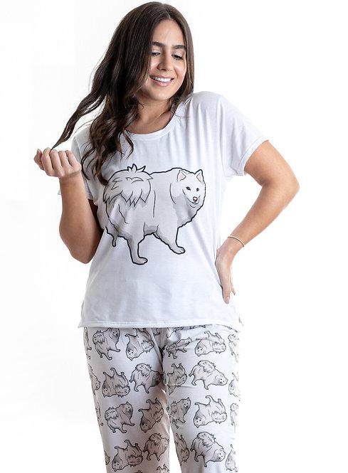 Samoyed w/pants