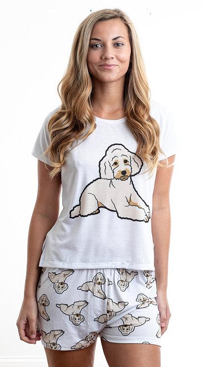 Doodle/poodle w/shorts