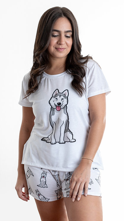 Husky w/shorts