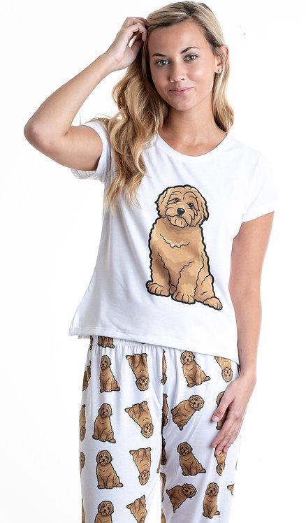 Brown doodle w/pants