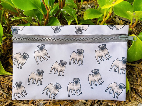 Pug travel pouch