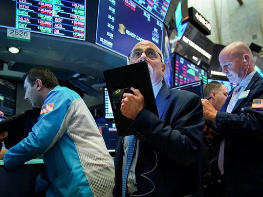 Dow sube 270 puntos, parece que Congreso Estadounidense evitará incumplimiento del gobierno
