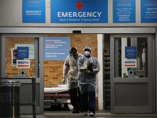 Los hospitales están atendiendo a más adultos jóvenes con síntomas graves de Covid, dice CDC