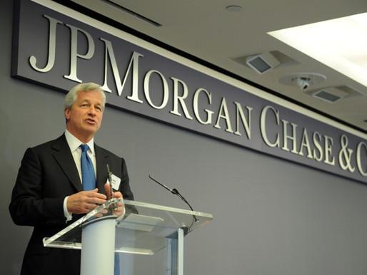 Las ganancias de JPMorgan aumentan por el impulso de banca de inversión y trading