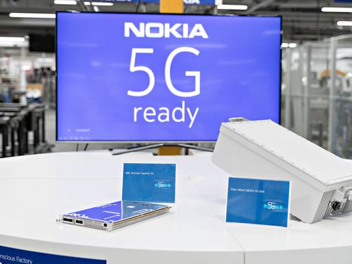 Nokia firma un acuerdo de equipamiento 5G con AT&T