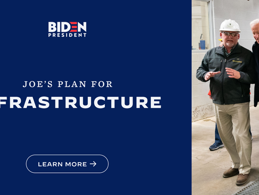 Biden inicia un esfuerzo para remodelar la economía de Estados Unidos con paquete de infraestructura