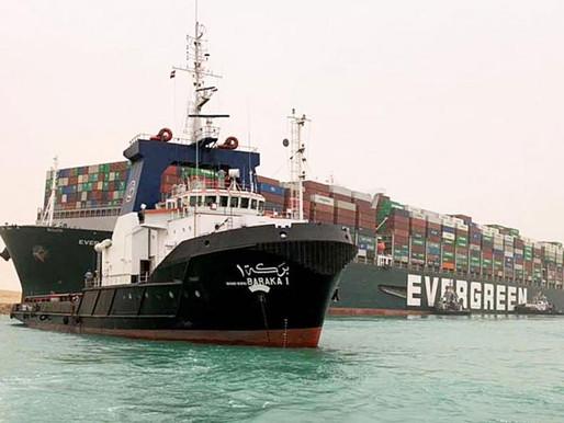 Egipto impone a barco Ever Given más de $900 mdd de compensación del Canal de Suez