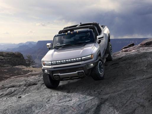 Alguien compró la primera camioneta pickup eléctrica GMC Hummer EV nueva por $ 2.5 mdd