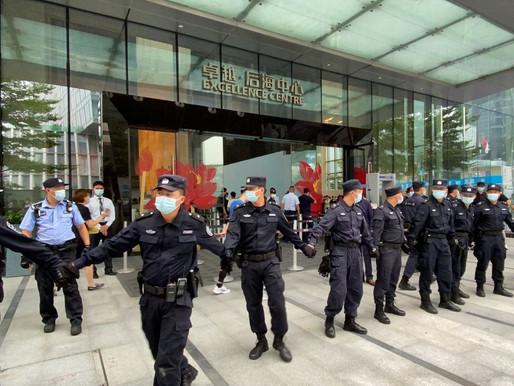 China se prepara para la desaparición de Evergrande