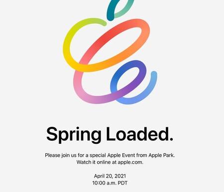 """Apple Inc. programó un evento para el 20 de abril denominado """"Spring Loaded"""""""