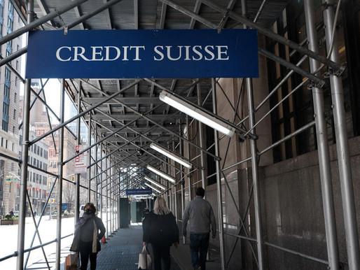 Consecuencias de los fondos de cobertura borran más de $9 mmdd de Credit Suisse y Nomura