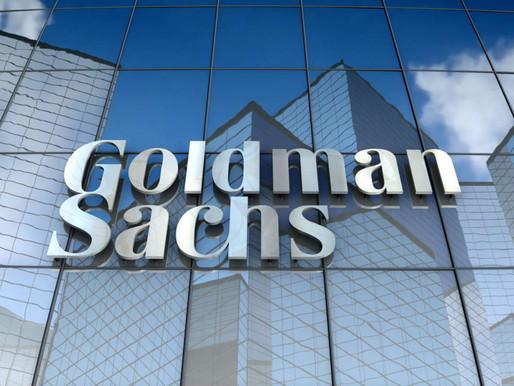 Incrementan utilidades e ingresos de Goldman Sachs
