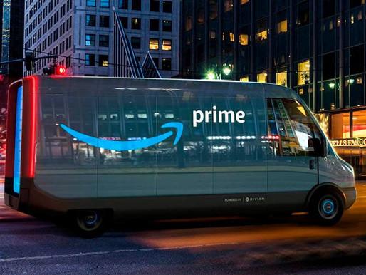 Amazon comienza a probar las camionetas de reparto eléctricas Rivian en San Francisco