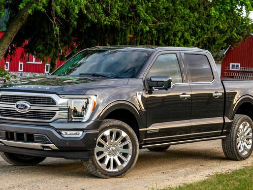 Ford deja inactiva la planta F-150 debido a la escasez mundial de chips