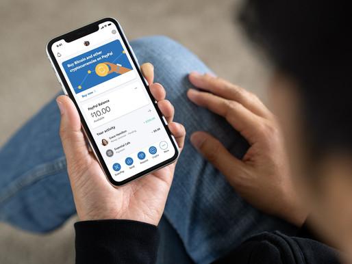 PayPal lanza compra y venta de criptomonedas en el Reino Unido