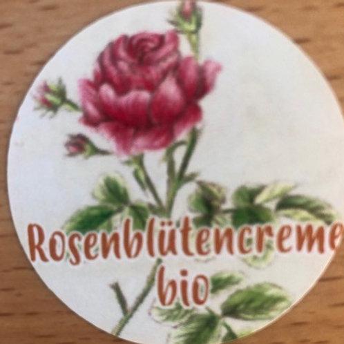 Rosenblüten-Creme bio (50 ml)