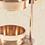 Thumbnail: Räucher- Stövchen gold