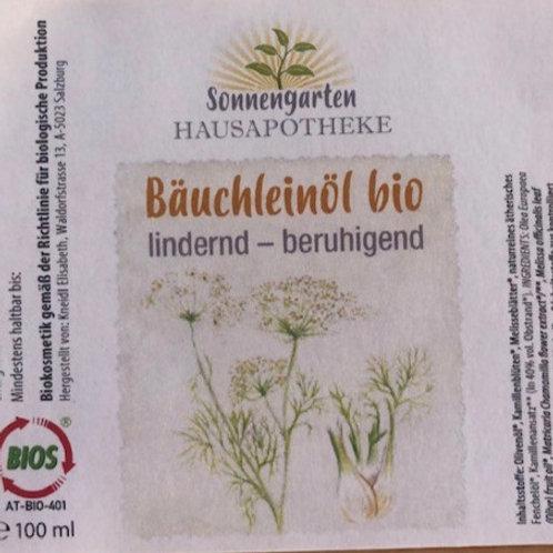 Bäuchlein-Öl bio 100 ml